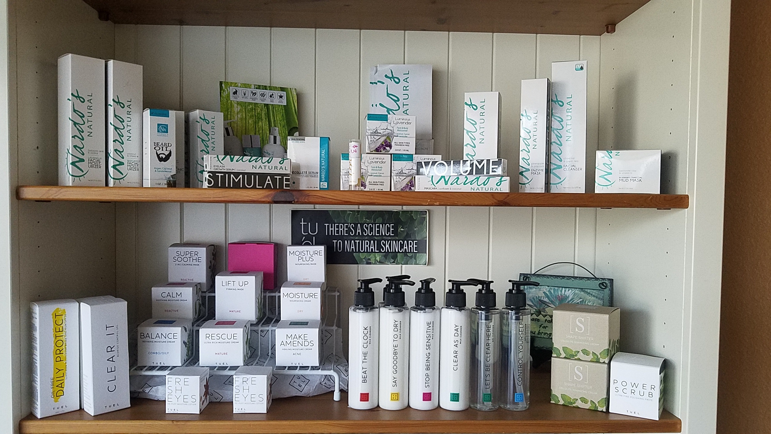 Retail products Serendipity Wellness Spa